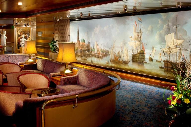 Borealis - Explorers-Lounge- Fred. Olsen Cruise Lines