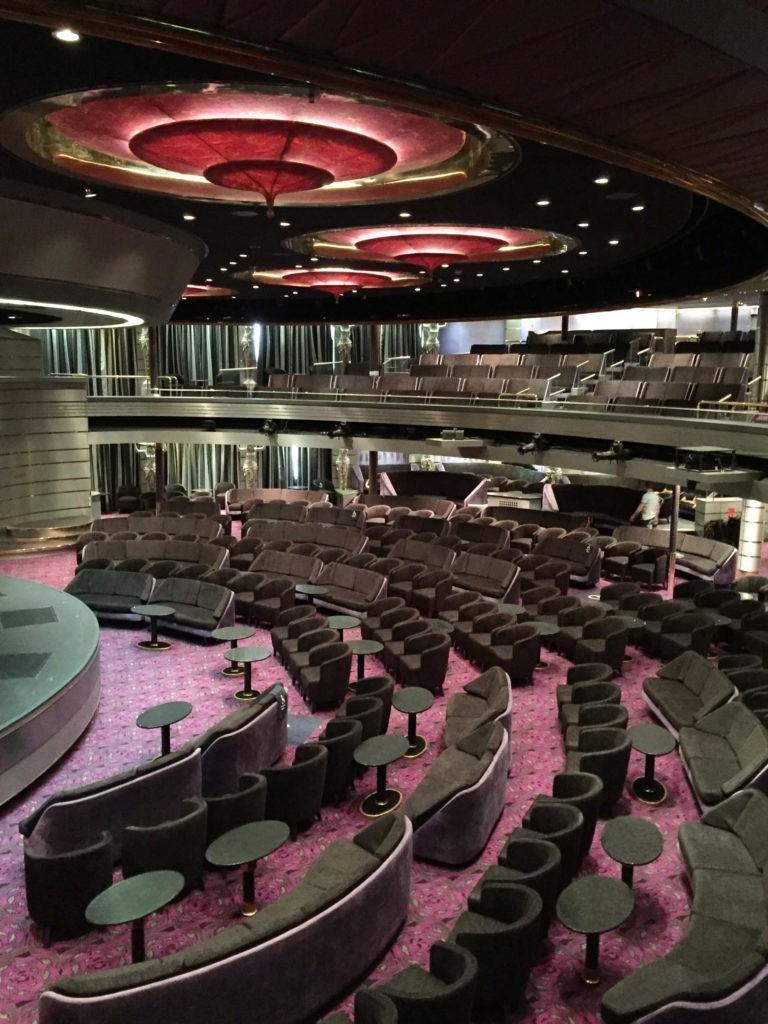 Show lounge - Bolette Fred. Olsen Cruise Lines