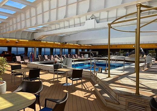 Borealis basseng Fred. Olsen Cruise Lines