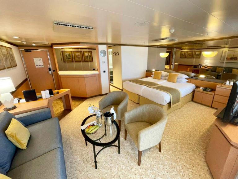 Premier Suite, 7010 on board Bolette